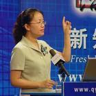 张晓彤老师正在演讲中