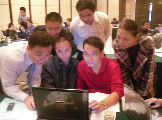王澍老师与学员互动