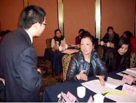邹文强老师与学员互动