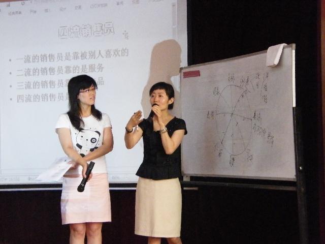 高子馨老师与学员分享
